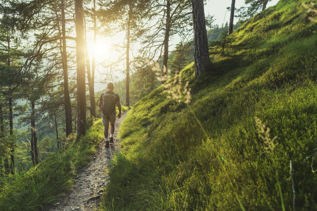 Spending time outside allows you to feel more relaxed, leading to an intentional lifestyle.